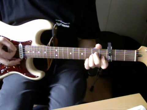 guitare l'horloge tourne