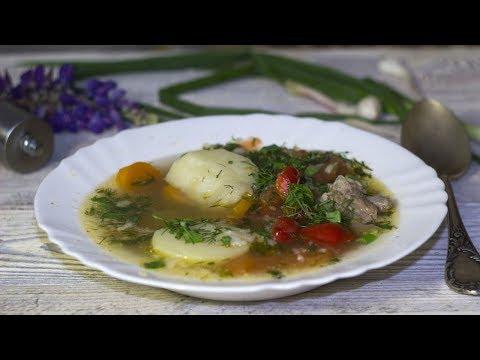 Супы в домашних условиях.Норвежский суп с треской