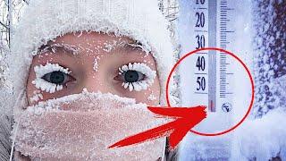 """Девушка побывала в САМОМ """"холодном"""" городе России... От её рассказа ВАМ станет холодно..."""