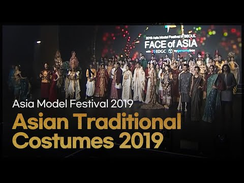 23 Asian Countries Traditional Clothing Fashion Show