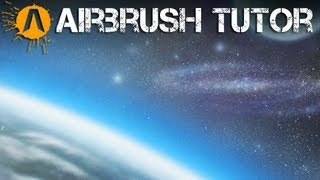 How to Airbrush a Space Scene!