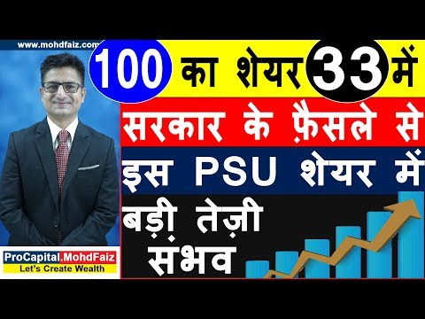 100 का शेयर 33 मे | Latest Stock Market News | Latest Share Market News Today In Hindi