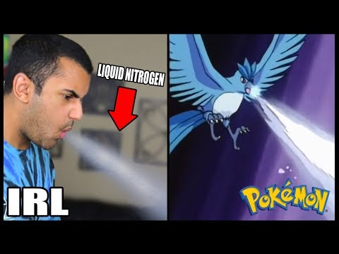 INSANE POKEMON ATTACKS IN REAL LIFE! CHALLENGE (ARTICUNO, ZAPDOS, MOLTRES) *INSANELY DANGEROUS*