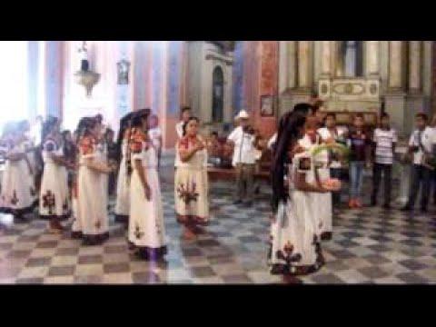 Ofrenda de la Danza a la Virgen de La Candelaria por El Ballet Chicometepetl 1