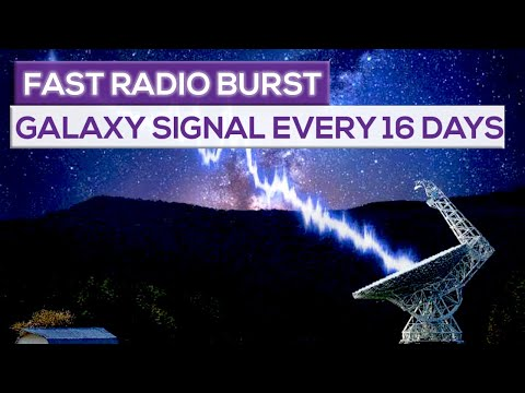 Mysterious Fast Radio Burst (FRB) Signal From Another Galaxy Is Repeating Every 16 Days!