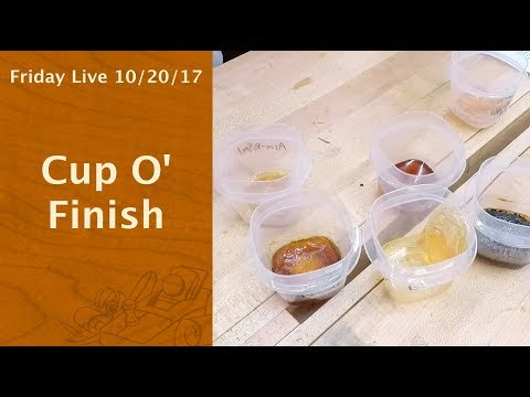 Cup O Finish - Friday Live!