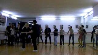 Ben & Joss Lindy Hop rehearsal for Ant1 performance March 3rd 2011