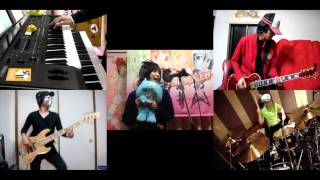 [HD]Minamike Tadaima OP [Shiawase High Tension] Band cover