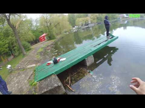 4-5 Май 2019г. Железноводское озеро рыбалка на спиннинг.