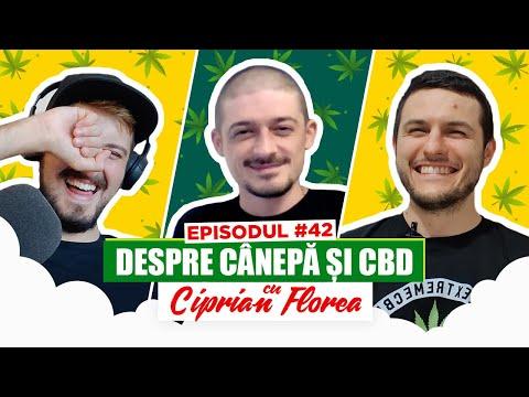 #42 Podcastul de VINERI - CBD, Cannabis terapeutic, 100% legal în România!?