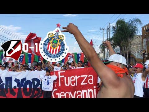 CARAVANA AL JALISCO - NUNCA CAMINARAS SOLO - ATLAS VS CHIVAS 0-1 #FUERZAYOBA ORIENTE ROJIBLANCO
