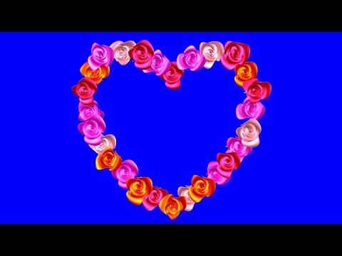 Футаж Сердце из Роз На Хромакее. Футаж Рамка на Хромакее Сердце. Футажи Рамки на Хромакее