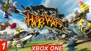 HAPPY WARS GAMEPLAY - On XBOX ONE - Team Death Match