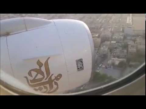 Emirates B773 at Dubai crash FULL ATC AIR TRAFFIC CONTROL