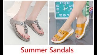 Women Footwear Collection 2019-20=Newchic Shoes Summer Sandals
