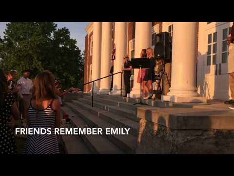 Bourbon County Middle School remembers Emily Sams