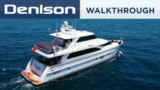 JEANNIE: 82 Horizon Motoryacht Walkthrough