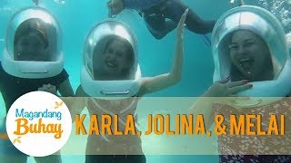 Momshies Jolina, Karla, and Melai conquer their fears for thei…