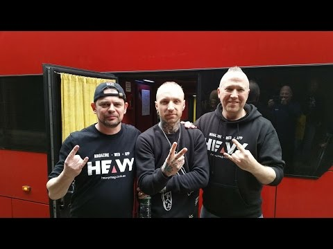 Backyard Babies Interview 2017 | HEAVY TV