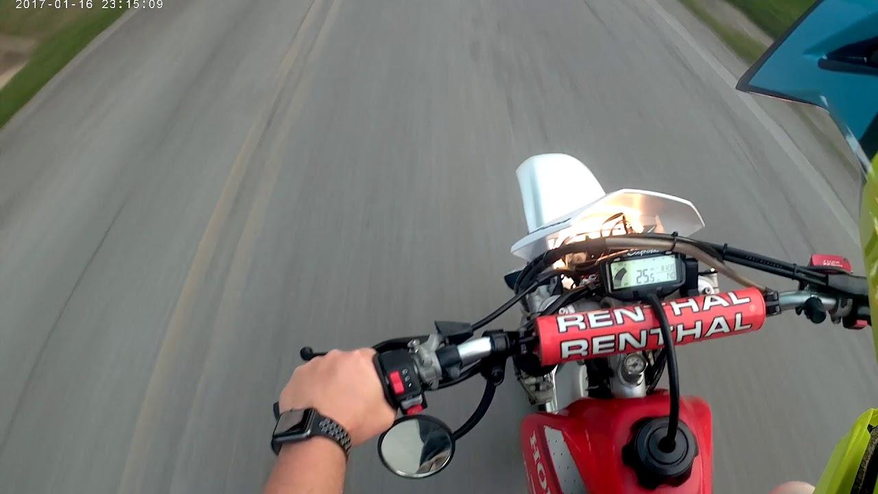 Highway Dirt Bike Ride #2 : Honda XR250R Street Legal