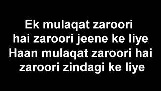 Zack Knight - Bollywood Medely Pt 5 Lyrics
