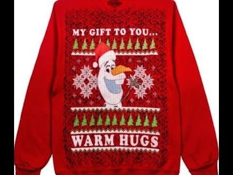 disney best ugly christmas sweaters frozen darth vader olaf santa holiday ice songs wdw diane banks