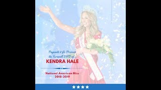 National American Miss Farewell DVD by Pageants 2 Go - Kendra Hale