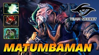 MATUMBAMAN MAD LONE DRUID - Dota 2 Pro Gameplay