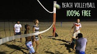 Caminhos Activity - Beach Volley - 100% Free - Rio de Janeiro