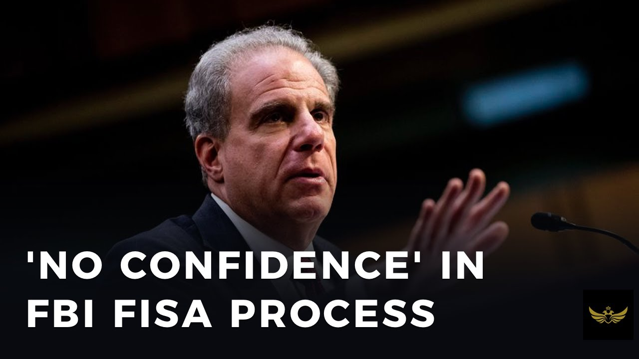 Horowitz audit finds FBI FISA process a complete mess