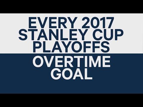Every 2017 Stanley Cup Playoffs OT goal