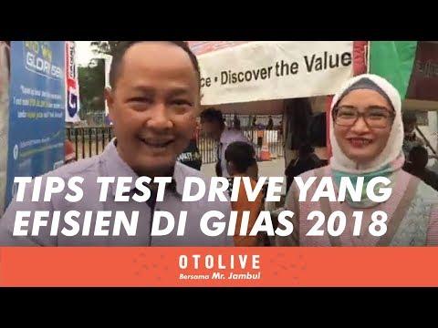 Test Drive yang Efisien di GIIAS 2018