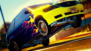 GTA 5 Online - CUSTOMIZING 3 NEW HIDDEN CARS! Sabre GT, Tornado & Minivan (GTA 5 SECRET DLC)