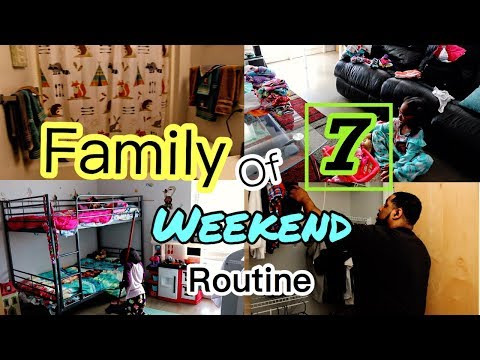 One of Our Family Weekend Routine | Black Family Vlogs