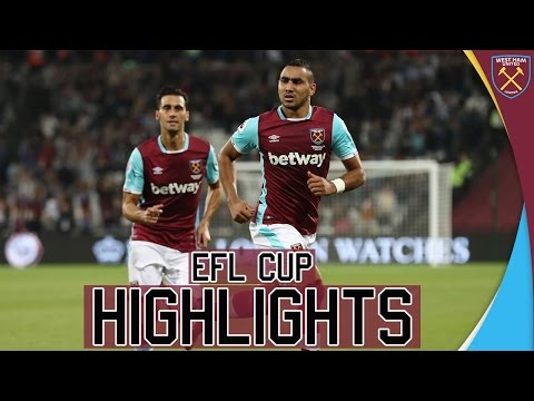 EFL CUP HIGHLIGHTS: 🏆West Ham United Vs Accrington Stanley🏆