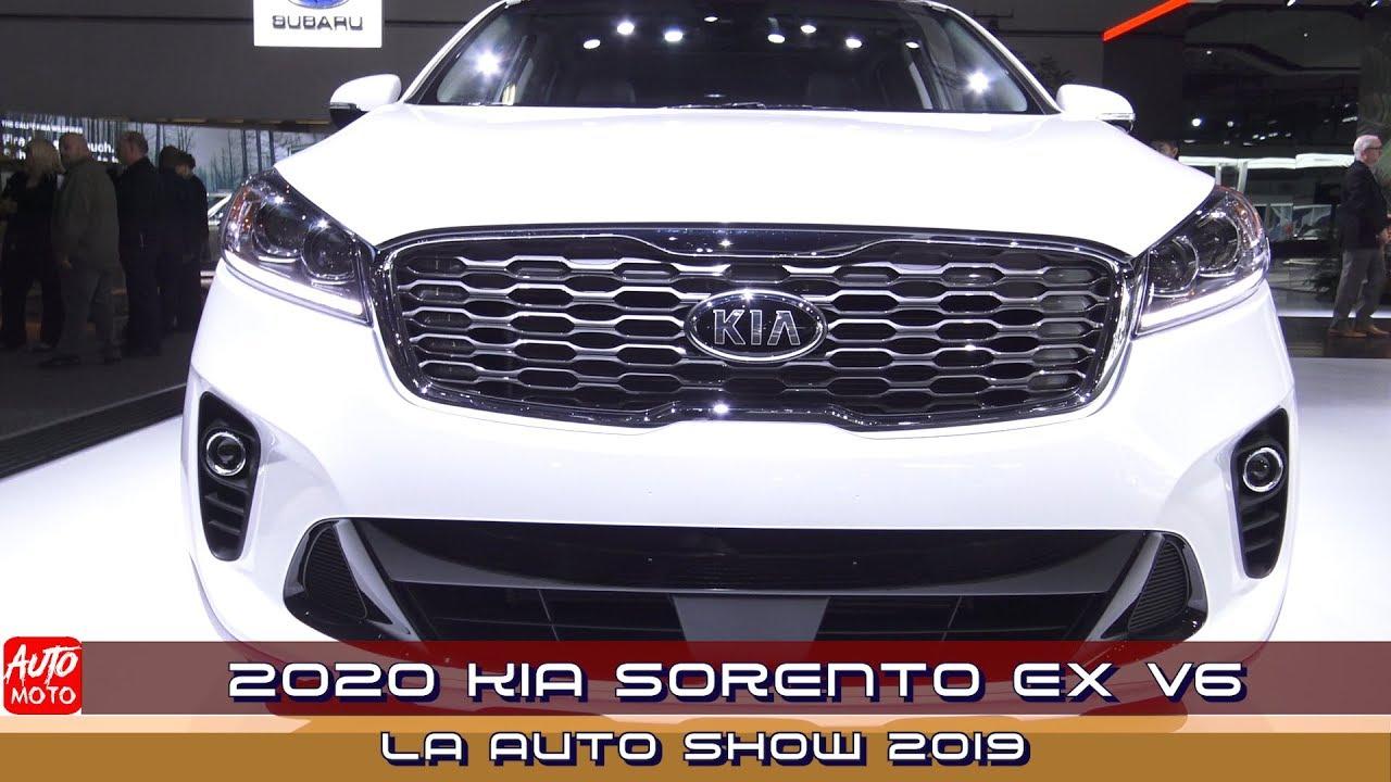 2020 Kia Sorento Ex V6 Exterior And Interior La Auto Show 2019 Youtube