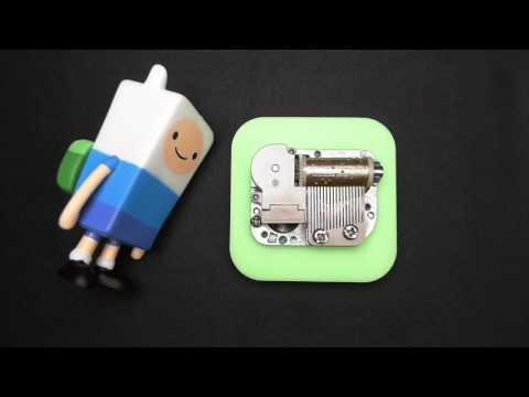 Island Song come along with me  Adventure Time Ending Theme  Custom Tune Music Box  Mini