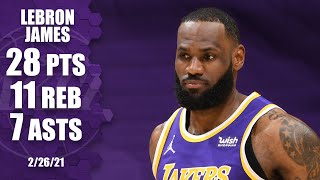 LeBron James drops 28 points as Lakers beat Trail Blazers [HIGHLIGHTS] | NBA on ESPN