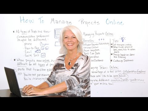 How to Manage Projects Online - Project Management Training