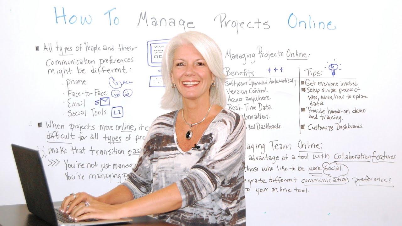 How to Manage Projects Online - ProjectManager com