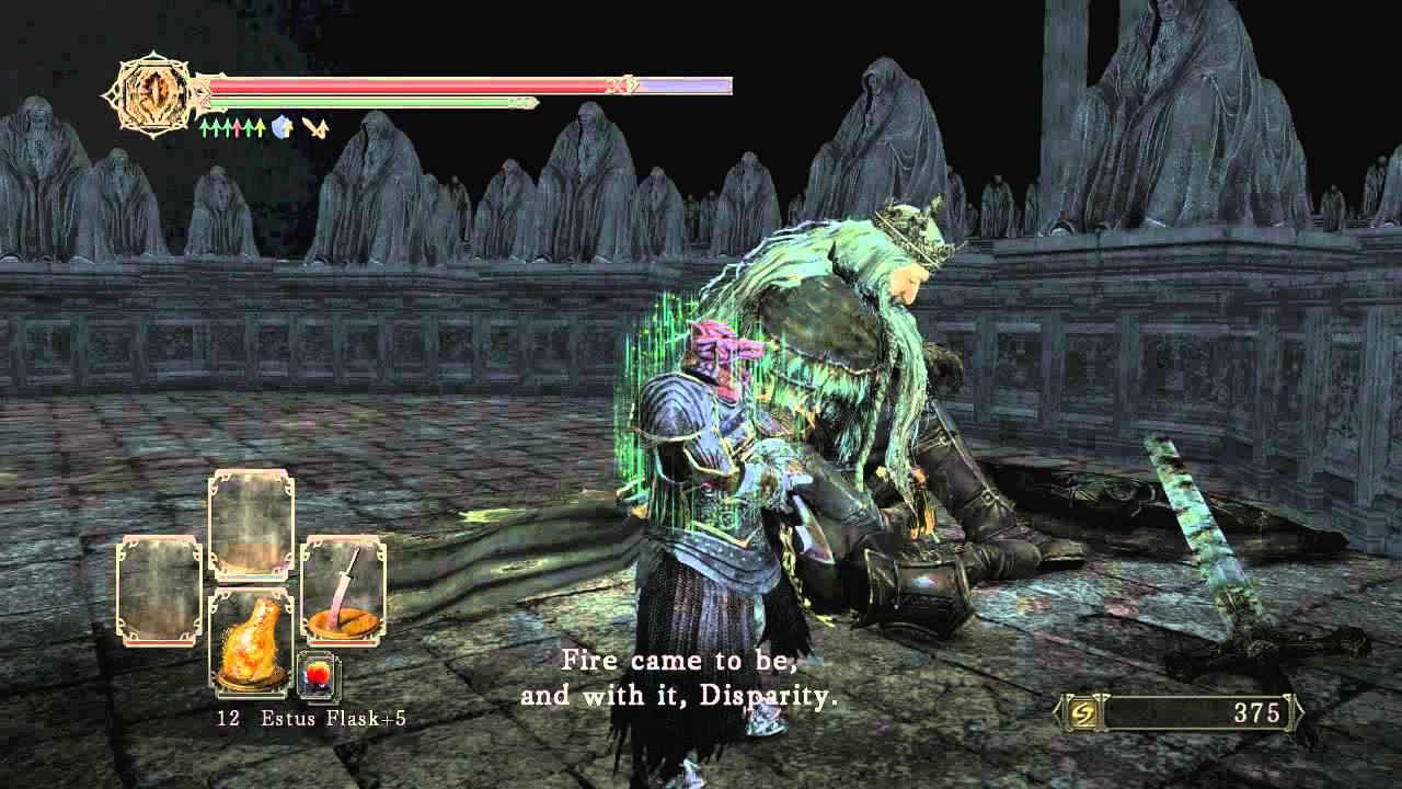 Dark Souls 2 Crown Of The Old Iron King Memory Of The King
