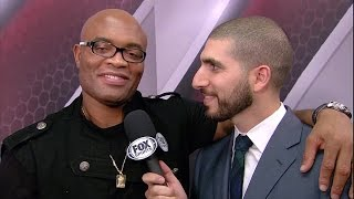 Anderson Silva on UFC 183 return vs. Nick Diaz
