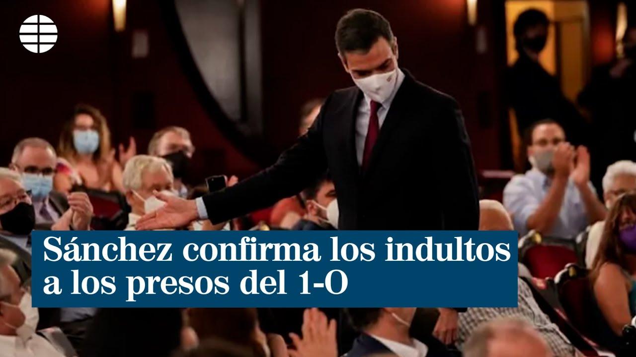 Download Sánchez confirma los indultos a los presos del 1-O tras ser increpado durante su llegada al Liceu