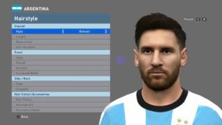 Face Lonel Messi PES 2016 By Bou7a Facemaker