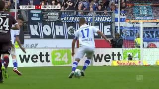 MSV Duisburg vs. 1. FC Union Berlin (2.Bundesliga 12.Spieltag 2017/2018)