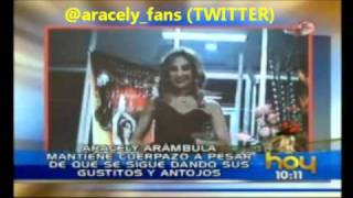 ★ Aracely ★ no descuida a sus fans! ☺