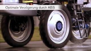 Antiblockiersystem ABS / Antriebsschlupfregelung ASR Optimale Verzö...