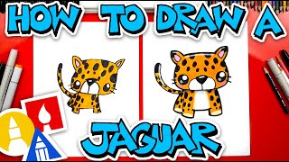 How To Draw A Cartoon Jaguar  - #stayhome and draw #withme