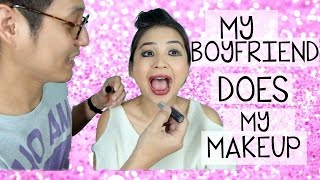 Download lagu My boyfriend does my makeup / putrititian juniorliem