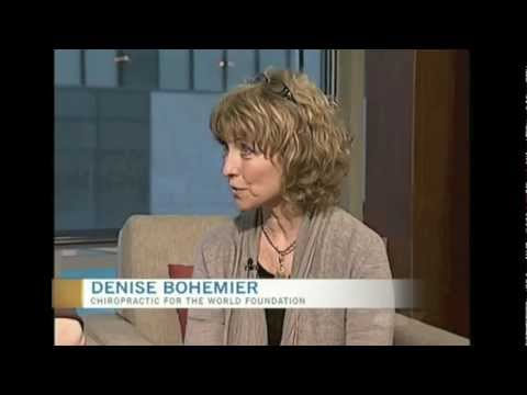 Chiropractic for the World - Charity Drive TV Interview - Denise